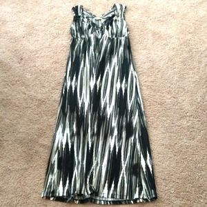 Live and Let Live maxi tank dress (M)